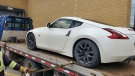 This car was seized after a man was caught racing on city streets. (Courtesy London Police Services)