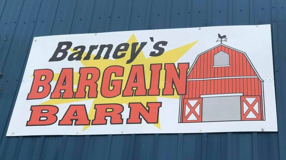 Barney's Bargain Barn in Little Current