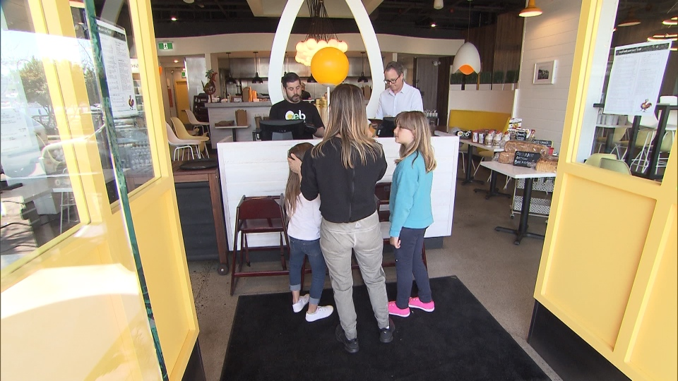 Vancouver's OEB Breakfast Co. serves food.