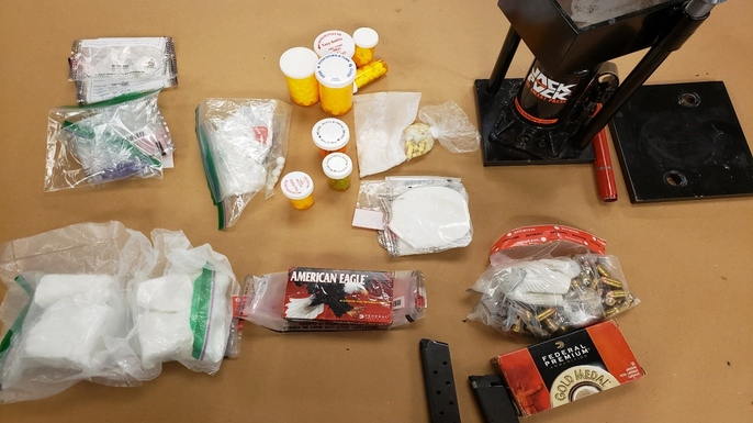 Drugs seized in London, Ont.