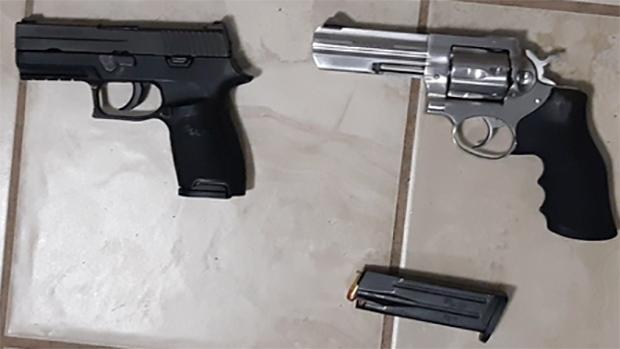 Guns seized in London, Ont.