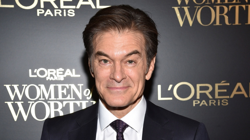 This Dec. 4, 2019 file photo shows Dr. Mehmet Oz at the 14th annual L'Oreal Paris Women of Worth Gala in New York. (Photo by Evan Agostini/Invision/AP, File)
