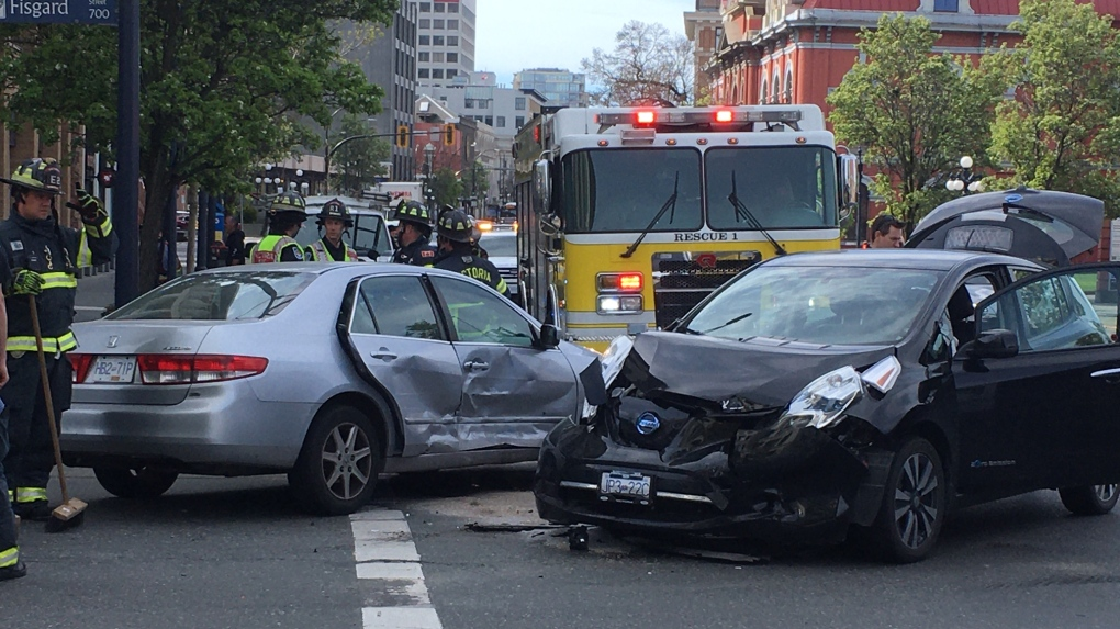Victoria crash
