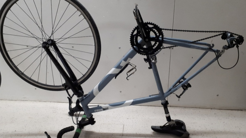 A VicPD bait bike is shown: (Victoria Police)