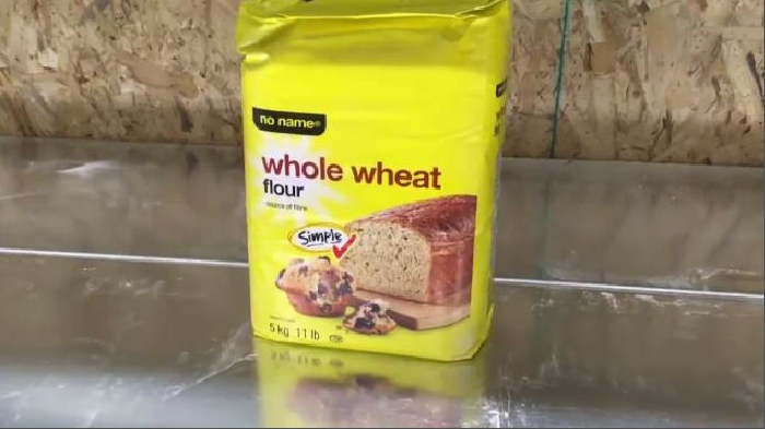 Shelves that would normally be full of flour are all but empty in some major grocery stores in the Maritimes -- temporarily out of stock as more and more shoppers begin baking at home.