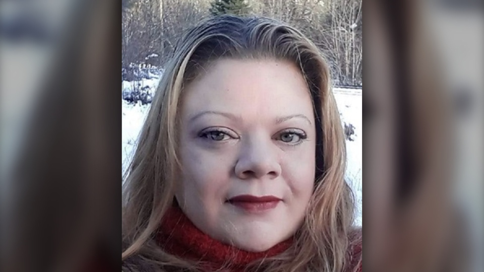 Authorities say 45-year-old April Lee-Ann Christine Parisian of Spuzzum, B.C. was last seen by a family member on April 7 or 8, 2020.