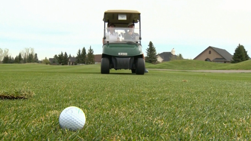 A golf course is seen in this file photo.