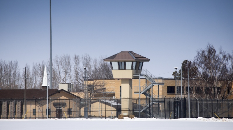 The Bowden Institution medium security facility near Bowden, Alta., Thursday, March 19, 2020. THE CANADIAN PRESS/Jeff McIntosh