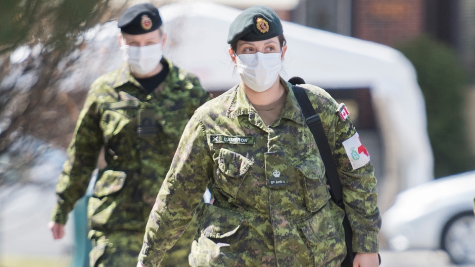 Army in Montreal