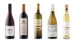 Momo Organic Pinot Noir 2018, Drumheller Cabernet Sauvignon 2016, Kutjevo Grasevina 2018, Angels Gate Mountainview Chardonnay 2015, PondView Estate Winery Gold Series Vidal Icewine 2015