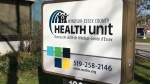 Windsor Essex County Health Unit in Windsor, Ont., on April 6, 2020. (Bob Bellacicco / CTV Windsor)
