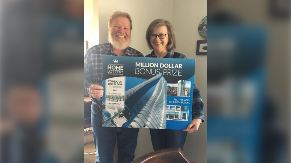 Brian Bloom from Falconbridge has won a big prize