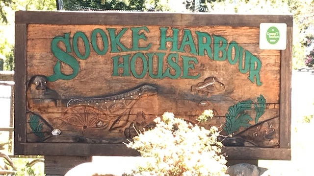 The Sooke Harbour House property is now listed in a court-ordered foreclosure sale. (CTV News)
