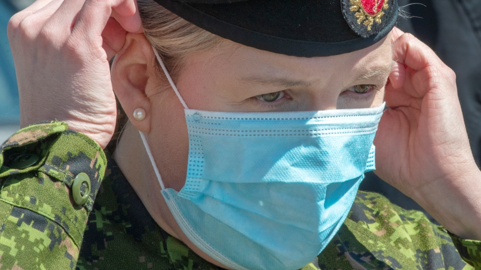 Canadian Armed Forces Lt. Cmdr. Heather Galbraith