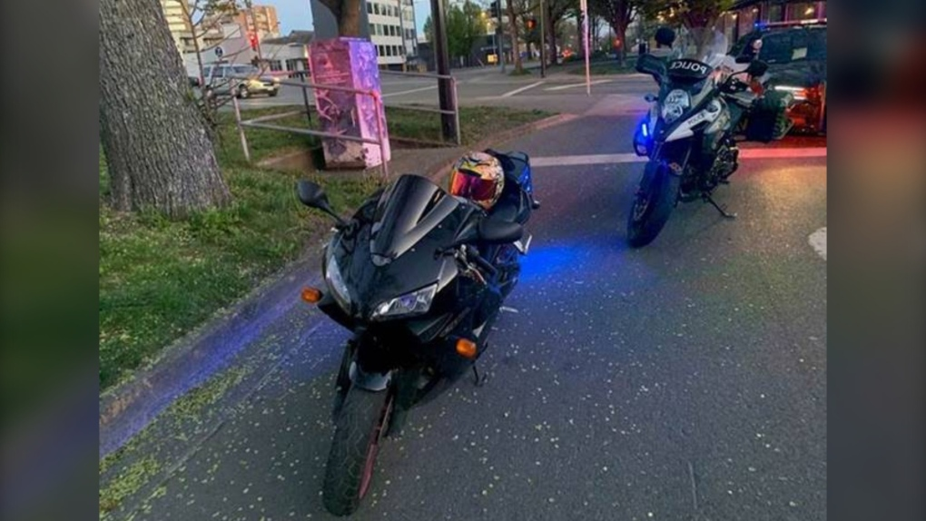 VicPD motorcycle