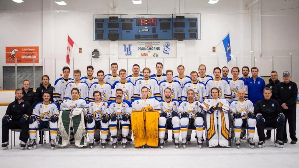 U of L Pronghorns men's hockey team