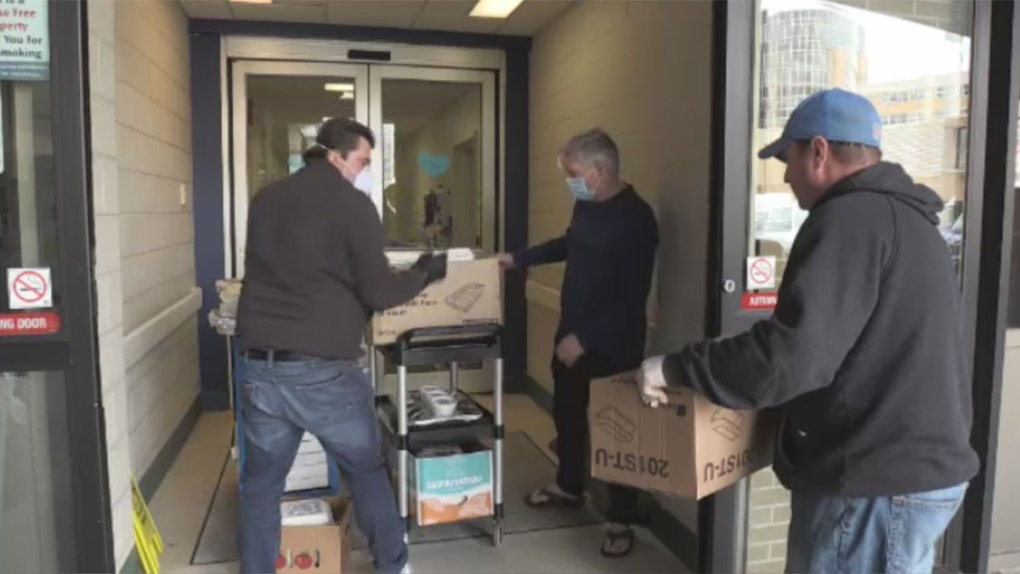 Meals delivered to LHSC
