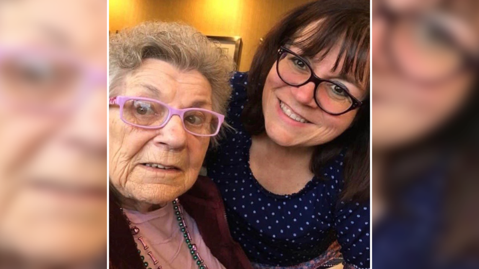 Jane Cierpicki is worried about her 91-year-old mother Ethel Proulx at Laurier Manor in Ottawa.