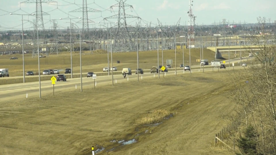 Traffic on henday, spring 2020