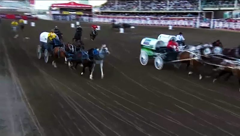 Chuckwagon racers such as two-time Rangeland Derby Champ Luke Tournier, hope the Stampede takes place this July. A decision may be reached at a meeting Tuesday evening.