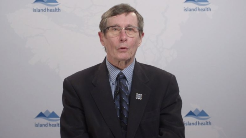 Island Health chief medical officer Dr. Richard Stanwick provides an update on COVID-19 on Vancouver Island after a recent climb in cases.