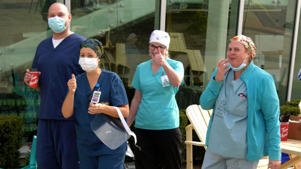 Windsor healthcare workers