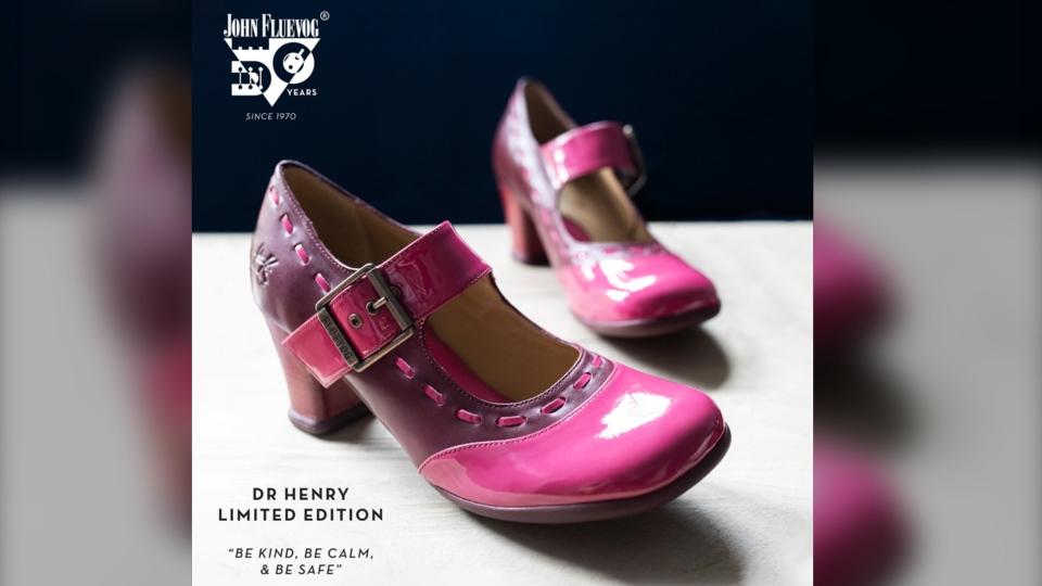 Dr. Bonnie Henry shoe