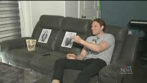 Will Aiello is finding himself a little lonely while working from home. (CTV Northern Ontario)