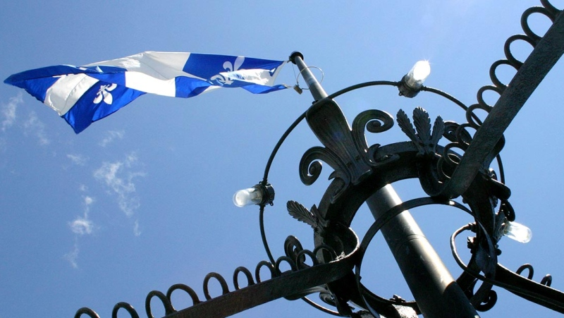 Quebec flag (image: Quebec National Assembly)