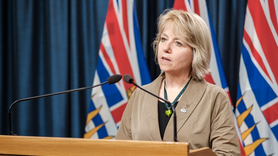 Dr. Bonnie Henry gives an update on COVID-19 in B.C. on April 22, 2020.