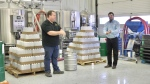 Compass Brewing in Timmins has produced 5,000 bottles based on a recipe from the World Health Organization. Apr.23/20 (Lydia Chubak/CTV Northern Ontario)