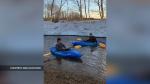 Isolation kayaking