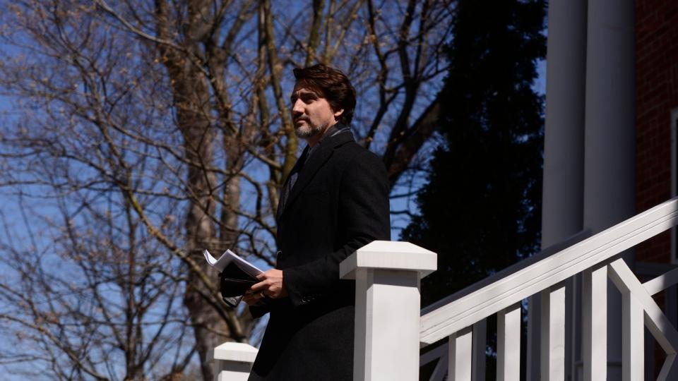 PM Justin Trudeau COVID update April 23