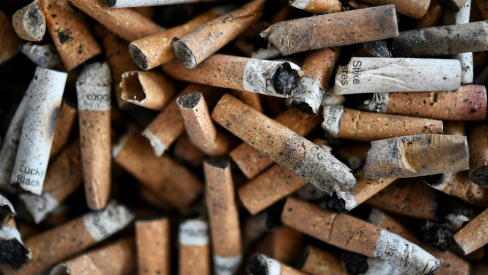 Researchers in France are planning to carry out further trials to see if nicotine could protect against coronavirus infections. (AFP)