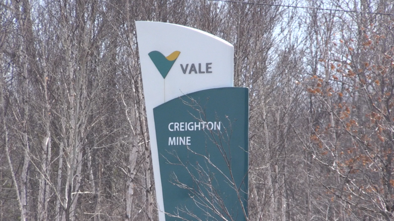 Vale's Creighton Mine located in Greater Sudbury. Apr. 23/20 (Alana Pickrell/CTV Northern Ontario)