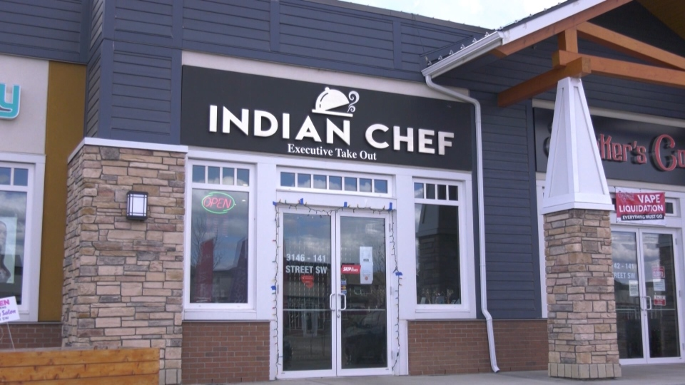 Indian Chef restaurant.