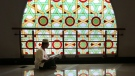 An Muslim man reads the holy book of Quran at a mosque during the second week of Ramadan in Jakarta, Indonesia, Monday, June 29, 2015. (AP / Tatan Syuflana)
