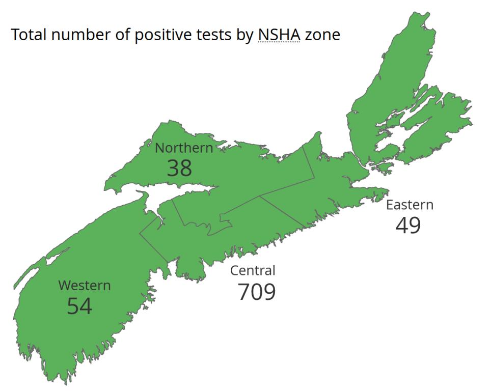 Nova Scotia zone map Friday Apr 24
