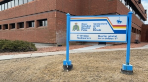 The RCMP F Division is shown in this file image (Cole Davenport / CTV News Regina)