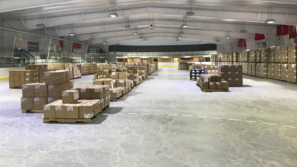Oro-Medonte MPC warehouse
