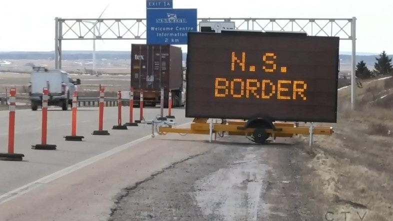 There's no mention that amendments to the Emergency Measures Act would be specific to the enforcement of border restrictions.
