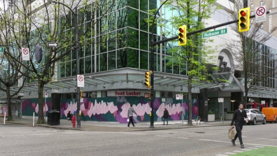 The Vancouver Mural Festival has asked 40 artists to turn the plywood scattered across the city in the midst of the COVID-19 crisis into colourful art.