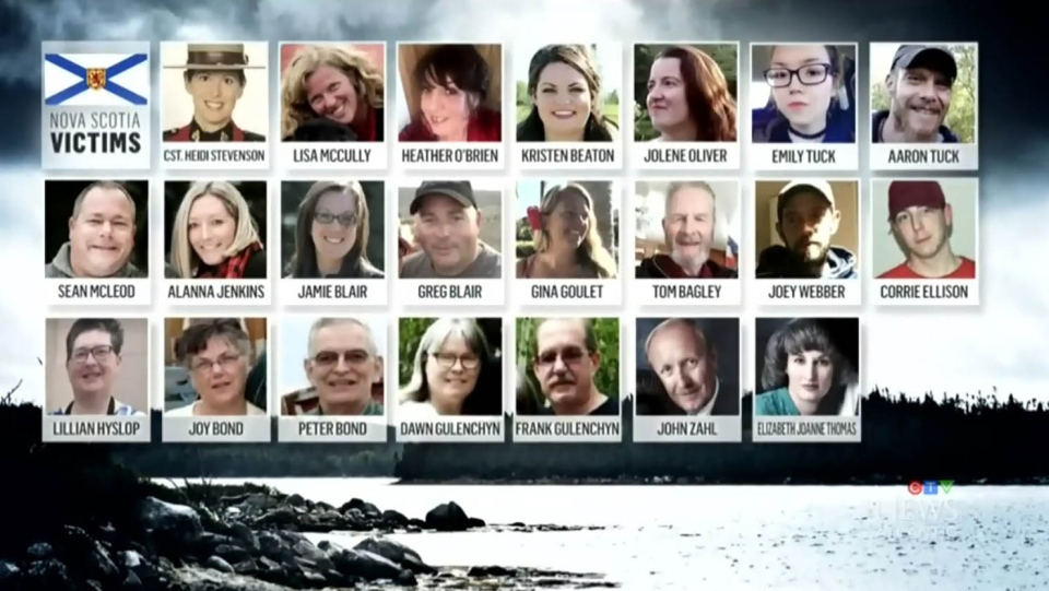 victims of Nova Scotia killings