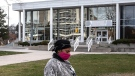 The Willowdale Welcome Centre in Toronto is seen on Monday April 20, 2020. The centre, which provides shelter for refugees, has reported 74 cases of COVID-19. THE CANADIAN PRESS/Chris Young