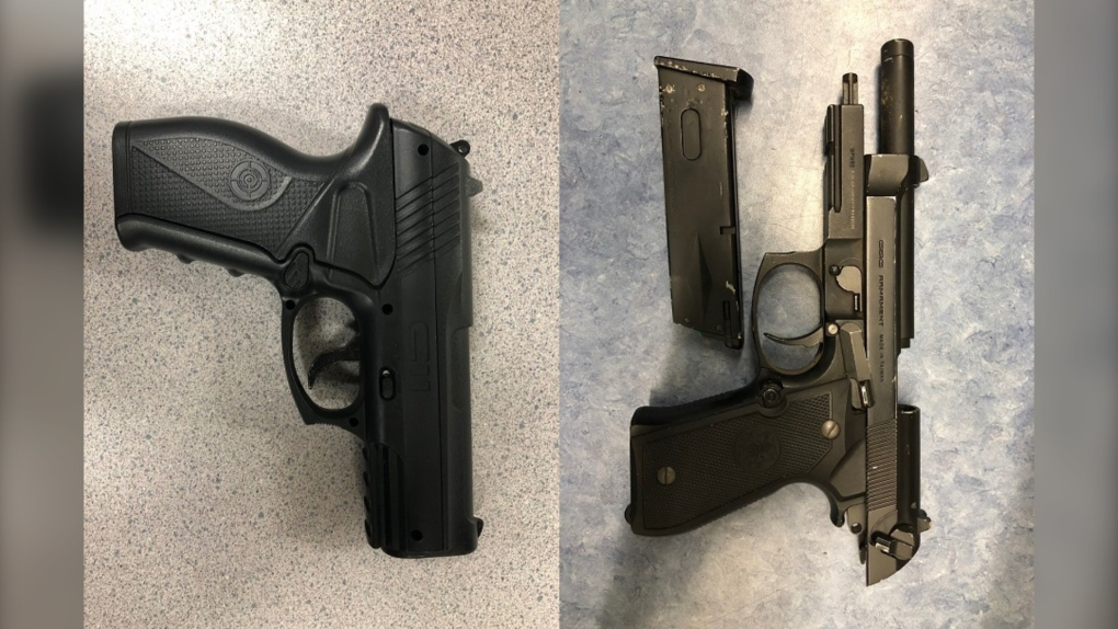 Guns seized by Victoria police