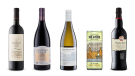 El Esteco Cabernet Sauvignon 2016, Cathedral Cellar Shiraz 2017, Blue Mountain Vineyard and Cellars Pinot Gris 2018, Big House Winery The Birdman Pinot Grigio, Williams & Humbert Walnut Brown Medium Sweet Sherry