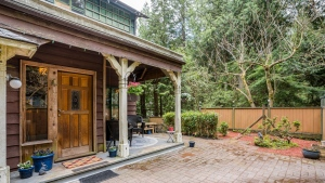 A house once lived in by F.H. Varley, of the Group of Seven, is for sale in North Vancouver, B.C. (Re/Mas Rossetti Realty)