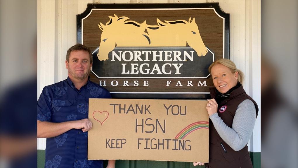 Craig Fielding and Katriina Ruotsalo donates