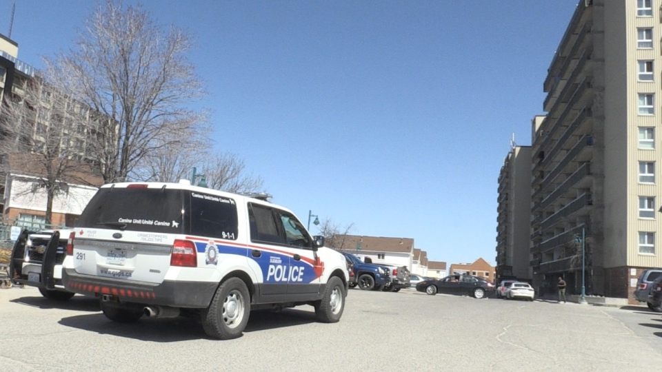 Sudbury police at scene of suspected stabbing