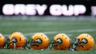 The Edmonton Eskimos have laid off a number of staff amid the COVID-19 pandemic. (THE CANADIAN PRESS/John Woods)